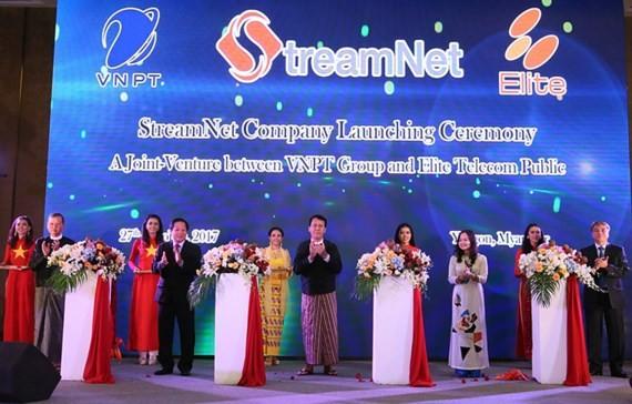 VNPT launches communication joint-venture in Myanmar