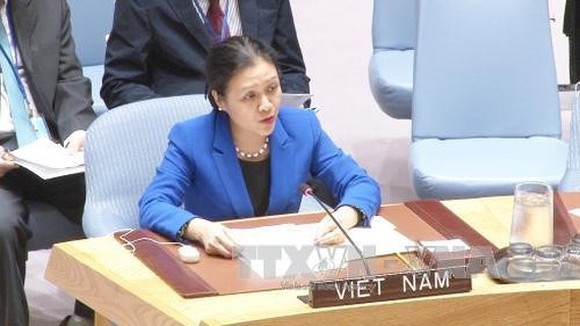 Ambassador Extraordinary and Plenipotentiary, Permanent Representative of the Socialist Republic of Viet Nam to the United Nations Nguyen Phuong Nga (Photo:VNA)