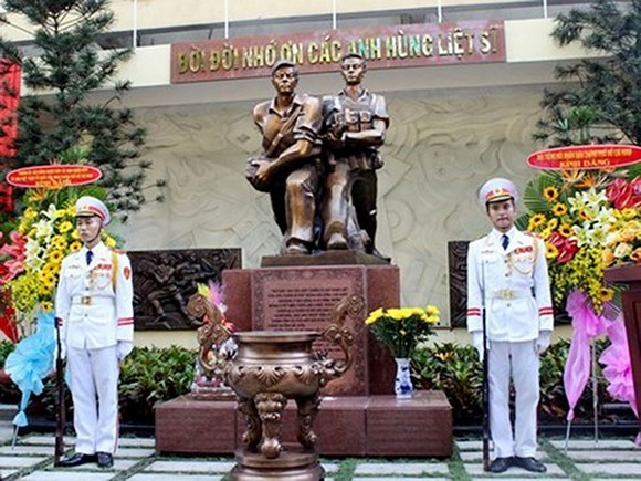 The memorial site is located inside the head office of VOH (Photo:VNA)