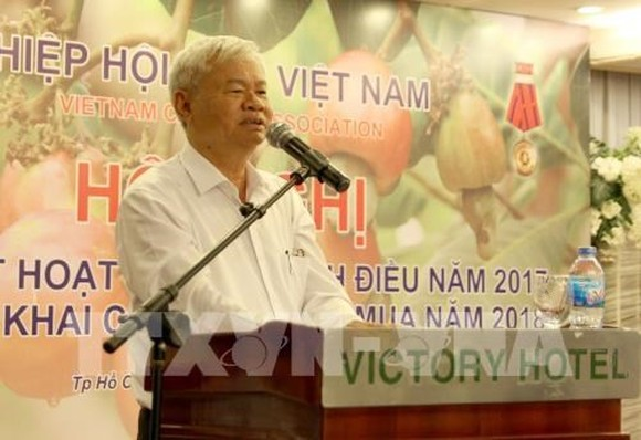 VINACAS President Nguyen Duc Thanh speaks at the conference (Source: VNA)