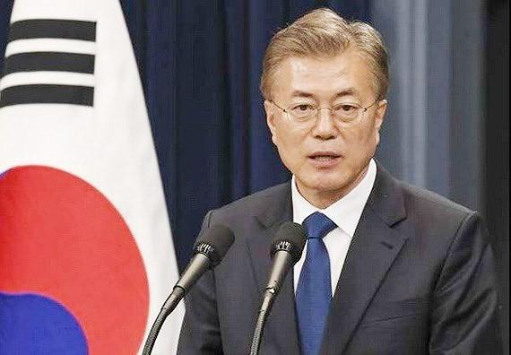 President of the Republic of Korea Moon Jae-in