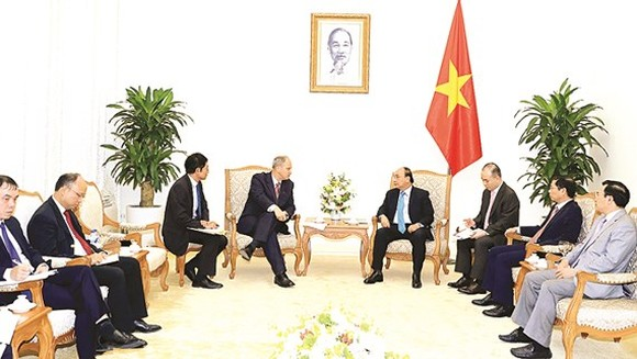Vietnamese Prime Minister Nguyen Xuan Phuc meets Ambassador of Federal Republic of Germany Christian Berger