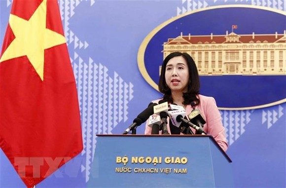 Spokesperson for the Vietnamese Ministry of Foreign Affairs Le Thi Thu Hang (Photo: VNA)