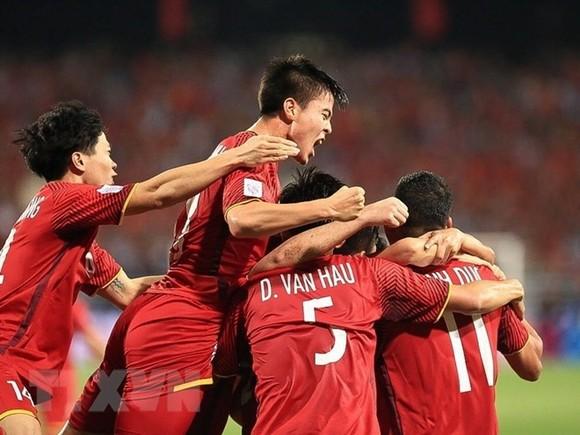 Vietnamese footballers (Source: VNA)