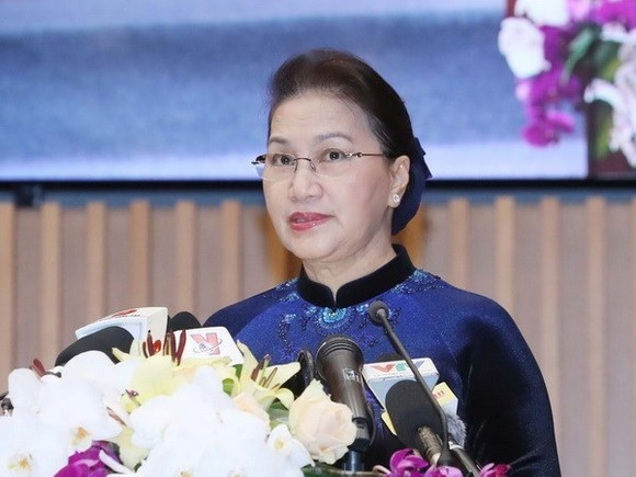 National Assembly Chairwoman Nguyen Thi Kim Ngan will attend the APPF-27 in Cambodia from January 14-16 (Photo: VNA)