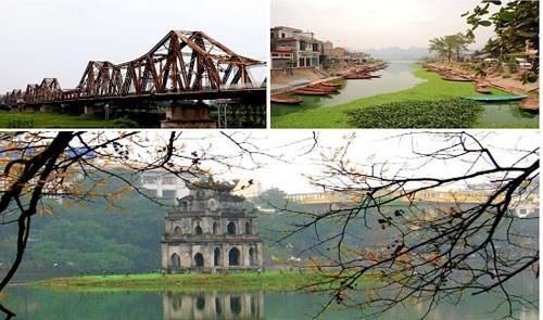 Destinations in Hanoi capital city (Source: baocongthuong.com)