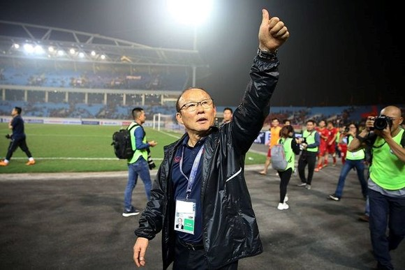 The Vietnamese national team's head coach Park Hang-seo (Photo: dtinews.vn)