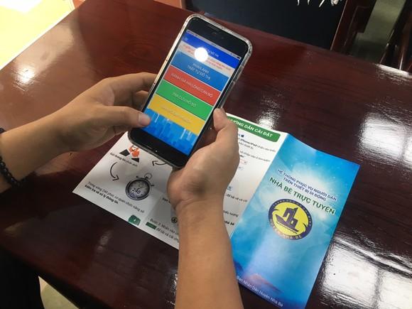 Người dân Nhà Bè phản ánh vi phạm trật tự đô thị qua smartphone ảnh 1
