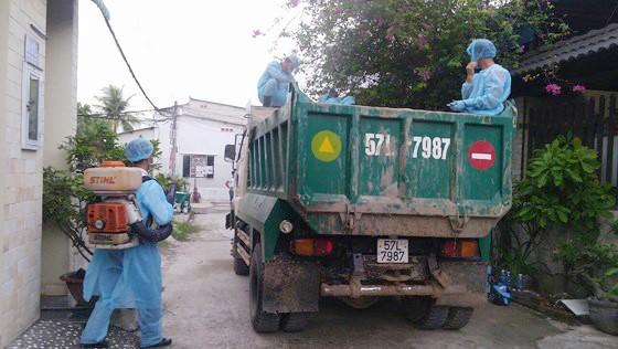 Cán bộ thú y và các lực lượng tham gia phòng, chống dịch tả heo châu Phi trên địa bàn TPHCM được hỗ trợ kinh phí
