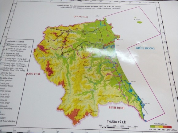 Mở rộng phạm vi công viên địa chất Lý Sơn - Sa Huỳnh đến 4.000km² ảnh 1
