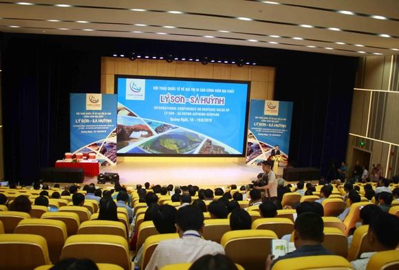 Hội thảo quốc tế về giá trị di sản công viên địa chất Lý Sơn-Sa Huỳnh ảnh 1