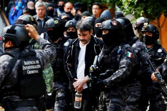 "Mexico bắt ""cánh tay phải"" của trùm ma túy ""El Chapo"" Guzman ảnh 1"