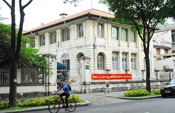 Dinh Thượng Thơ hiện là trụ sở của Sở TT-TT TPHCM. Ảnh: TTXVN