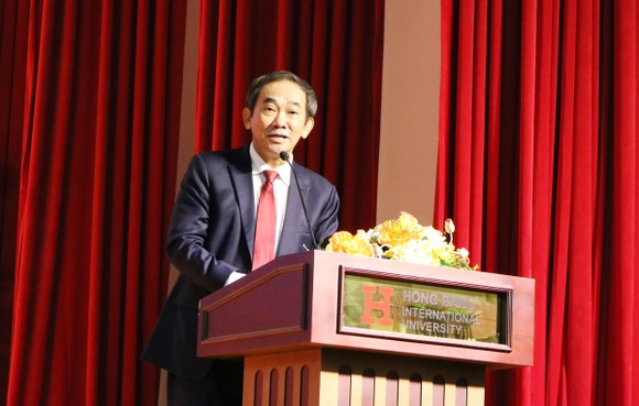 PGS-TS Hồ Thanh Phong giữ chức Hiệu trưởng Trường ĐH Quốc tế Hồng Bàng ảnh 2