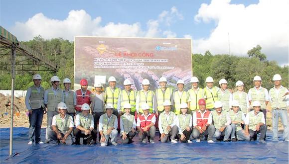 Công ty CP Tập đoàn Xây dựng Hòa Bình khởi công gói thầu mới dự án Sun Premier Village Beach Resort