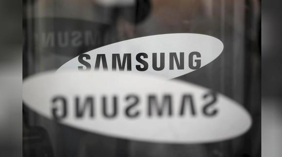 Logo của Samsung Electronics ở tòa nhà văn phòng tại Seoul, Hàn Quốc, ngày 23-3-2018. Ảnh: REUTERS