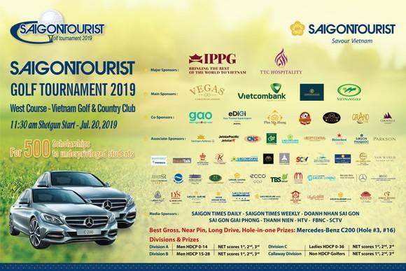 Giải Golf Saigontourist 2019 đóng góp 500 suất học bổng ảnh 1