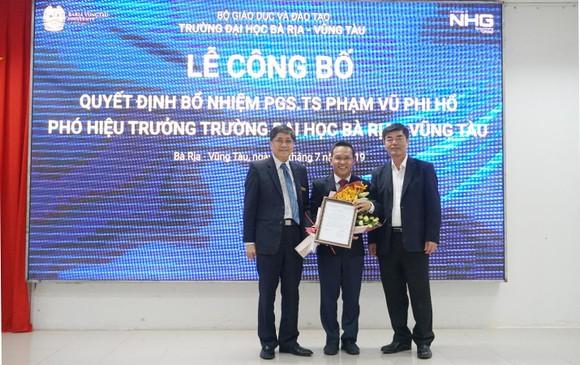 PGS.TS Phạm Vũ Phi Hổ được bổ nhiệm làm Phó Hiệu trưởng Đại học Bà Rịa – Vũng Tàu ảnh 2