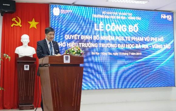 PGS.TS Phạm Vũ Phi Hổ được bổ nhiệm làm Phó Hiệu trưởng Đại học Bà Rịa – Vũng Tàu ảnh 4