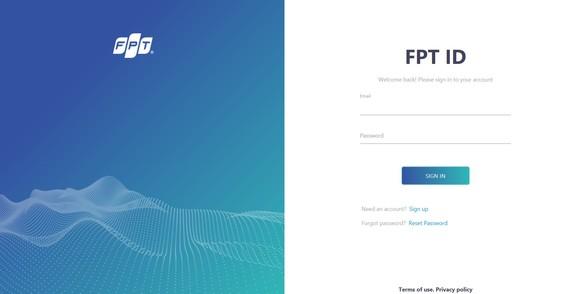Người dùng FPT.AI sẽ có một tài khoản mang tên FPT ID để sử dụng toàn bộ dịch vụ của FPT.AI, và hướng tới là các sản phẩm, dịch vụ khác của FPT trong tương lai không xa