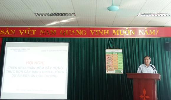 Chuẩn hóa thực đơn bán trú cho học sinh tiểu học ở Bắc Giang ảnh 3