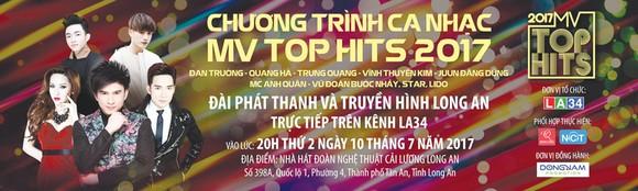 """Đan Trường - Quang Hà cùng cuộc chiến mang tên """"MV TOP HITS"""" trên sóng truyền hình LA34 ảnh 1"""