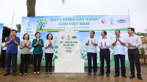 Hơn 100.000 cây xanh được trồng tại Bắc Kạn ảnh 2
