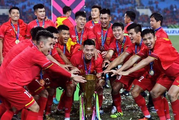 國家選手隊取得AFF盃冠軍。