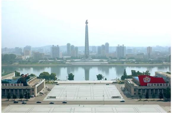 金日成廣場一瞥。(圖源:互聯網)