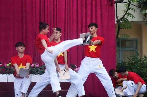 跆拳道表演。(圖源:互聯網)