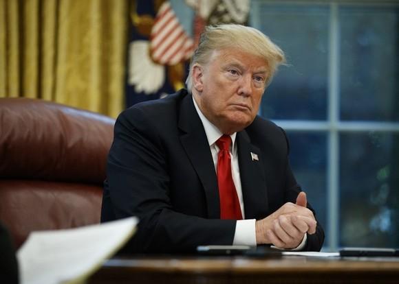 美國總統特朗普。(圖源:AP)