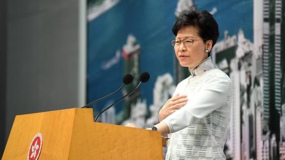 香港特首林鄭月娥。(圖源:AFP)