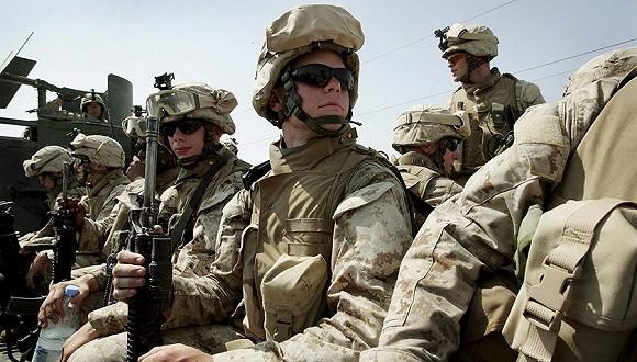 """美國代理國防部長沙納漢當地時間17日宣佈,美軍將再向中東增兵約1000人,以應對當地""""威脅""""。(示意圖源:互聯網)"""