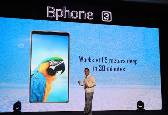 Bkav集團的 Bphone 3智能手機已於7月4日正式亮相緬甸仰光推介商品會。(圖源:風雲)