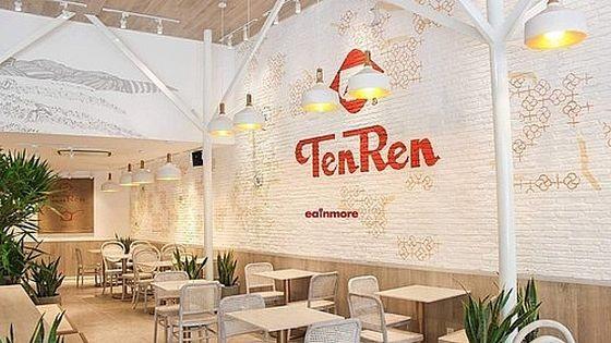 台灣天仁茗茶連鎖店退出越南市場。(圖源:松玲)