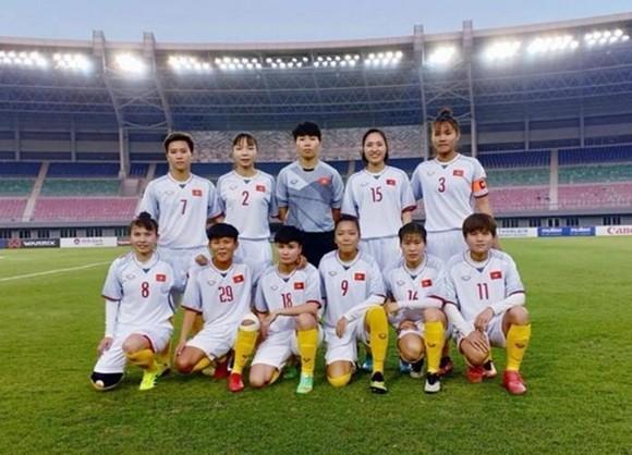 越南女足隊。(圖源:互聯網)