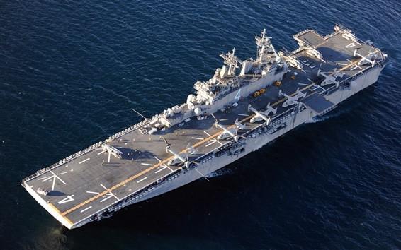 """美國海軍""""拳師號""""軍艦。(圖源:互聯網)"""