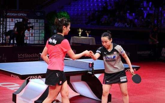 鑽石乒乓球比賽。(圖源:互聯網)