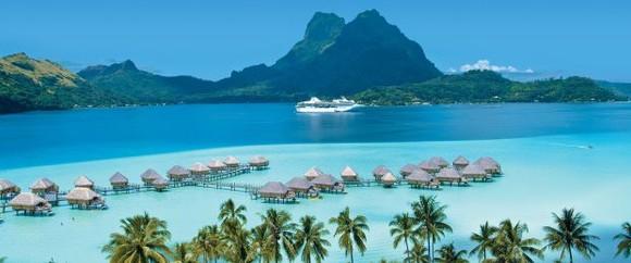 """塔希提島被譽為""""最接近天堂的地方""""。(圖源:互聯網)"""