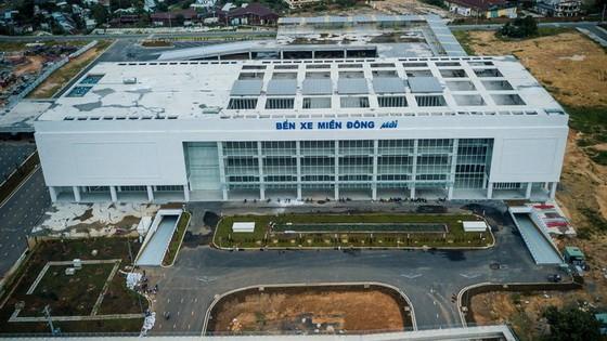 從高處俯瞰的新東區車站即將投入運營。(圖源:互聯網)