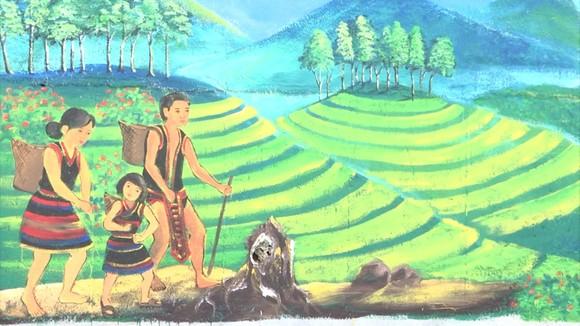 Đường bích họa ở xứ sở sâm Ngọc Linh ảnh 3