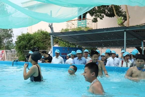Phát động phòng ngừa rủi ro đuối nước và dạy trẻ kỹ năng bơi năm 2019 ảnh 2