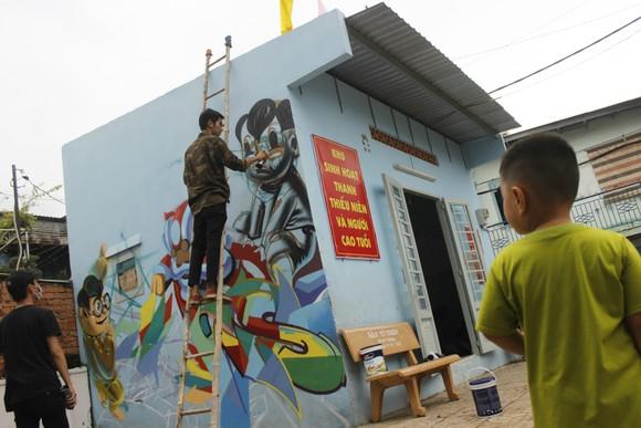 Khi người trẻ... đói sân chơi Graffiti ảnh 10