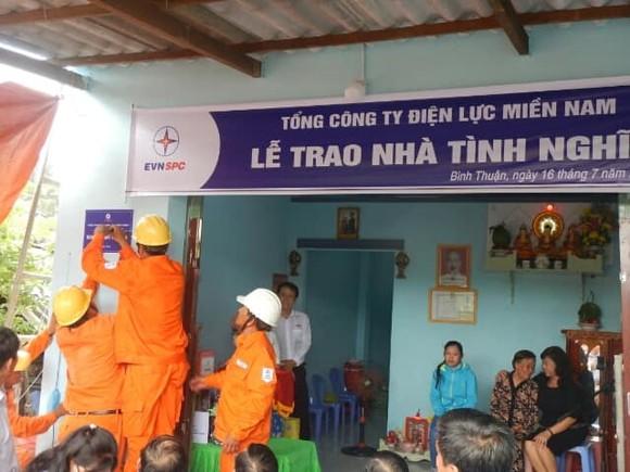 Điện lực miền Nam hỗ trợ xây dựng nhiều căn nhà cho gia đình chính sách ở Bình Thuận ảnh 1