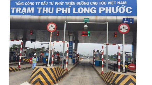 Long Phuoc tollbooth in HCMC-Long Thanh-Dau Giay expressway