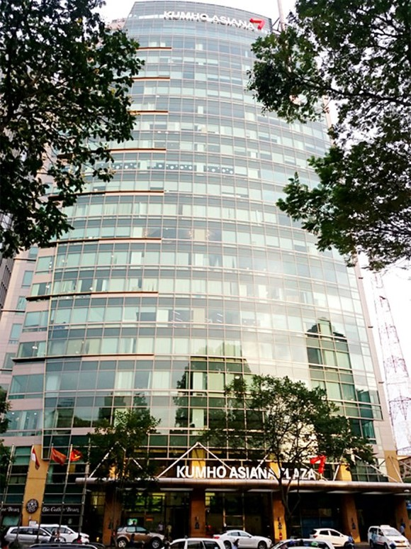 Mapletree Group has purchased Kumho Asiana Plaza building in District 1 (Photo: SGGP)