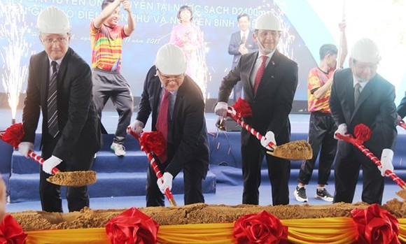 A view of the groundbreaking ceremony (Photo: SGGP)
