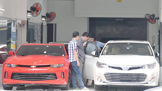 An auto shop in HCMC (Photo: SGGP)
