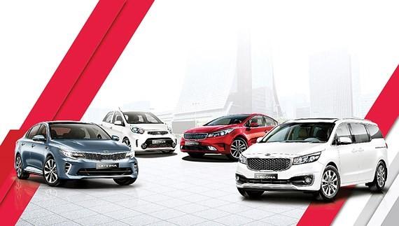 Auto market posts slow growth