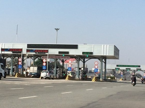 A BOT toll station in Dong Nai province (Illustrative photo)